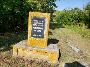 Shipwreck Grave Monument