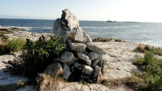 Stone Cairn & Lighthouse