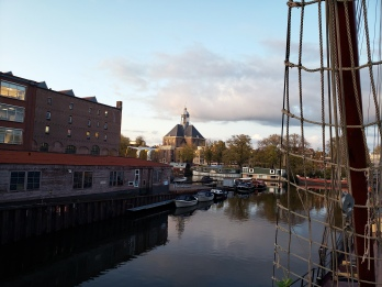 1910 Ship Rigging & Oosterkerk