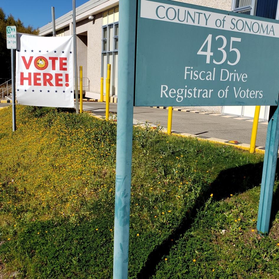 2002 Voter Registration Office