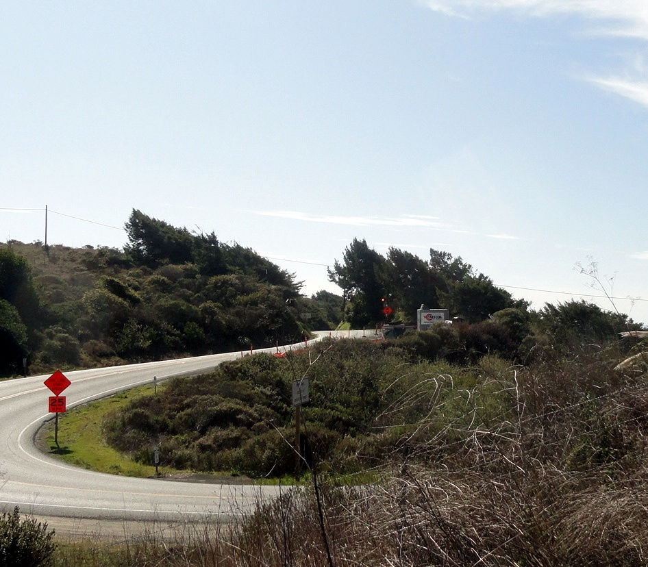 PCH Roadwork Sign