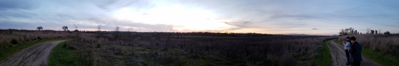Sunset Laguna de Santa Rosa