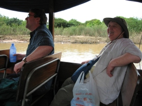 Floating Village Trip - Mom & Steve