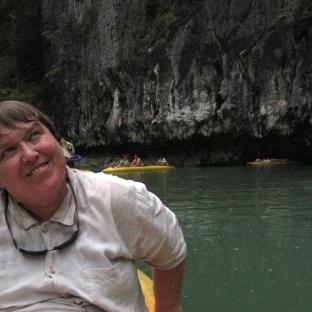 Phang Nga Bay - Mom in Lagoon 2