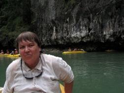 Phang Nga Bay - Mom in Lagoon
