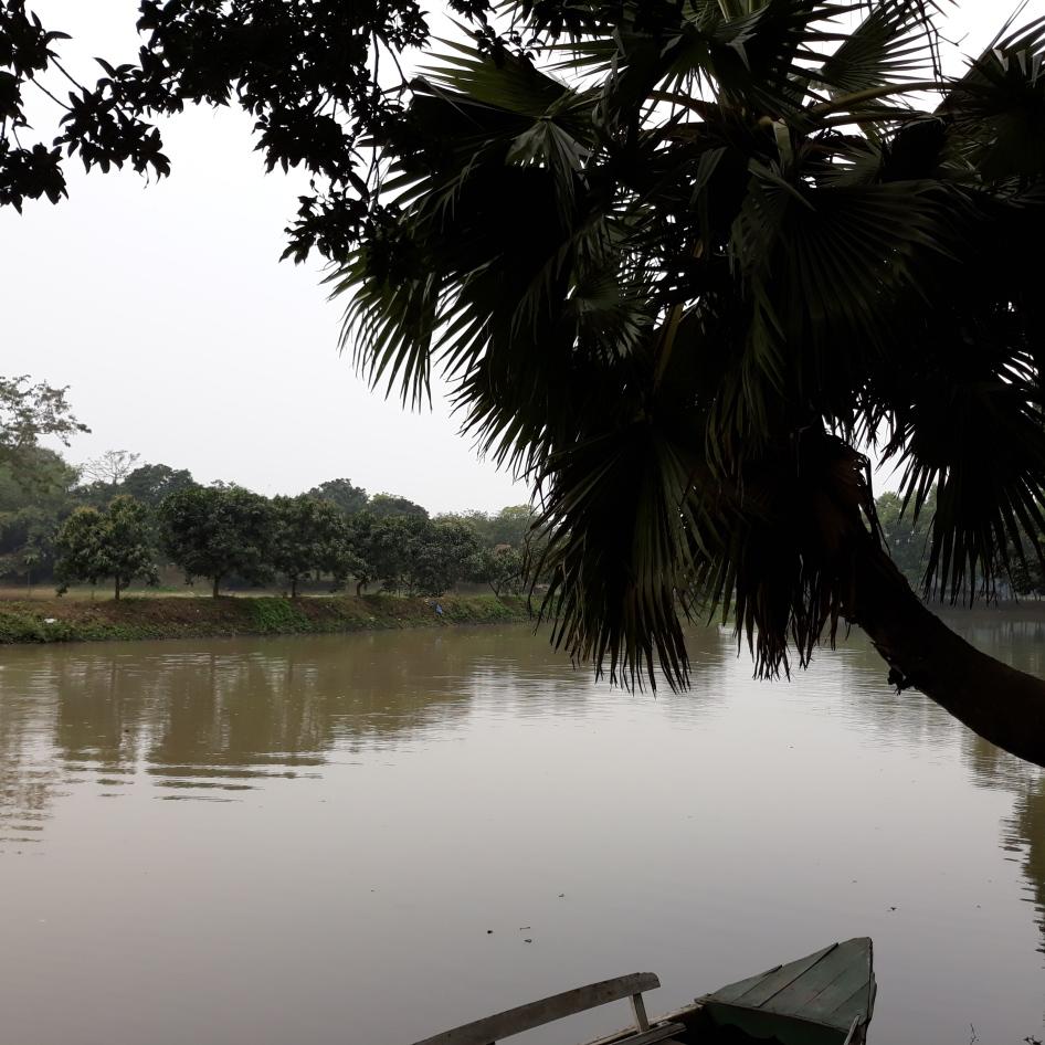 Lake Near Gazipur