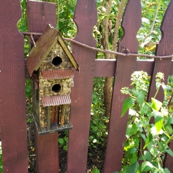 Fence Birdhouse 1