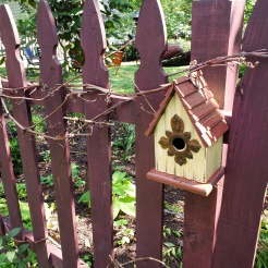 Fence Birdhouse 2