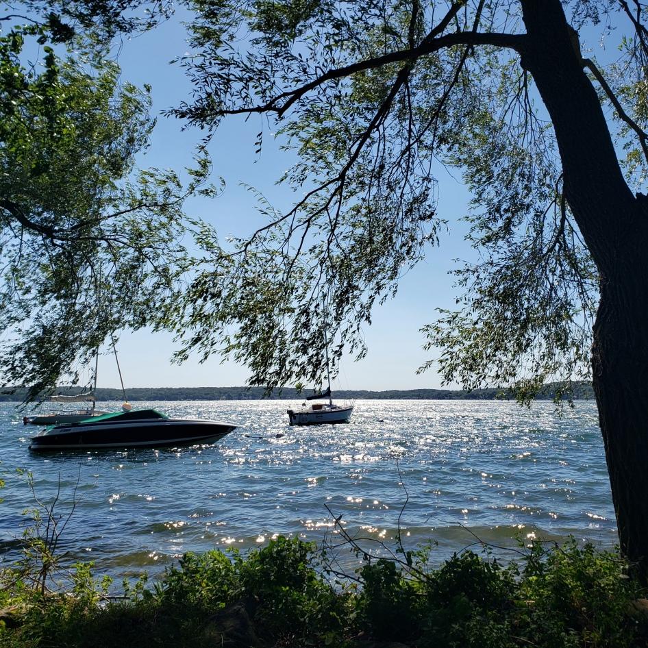 Windy Day on Geneva Lake