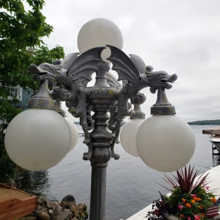 Dockside Light on Lake Path