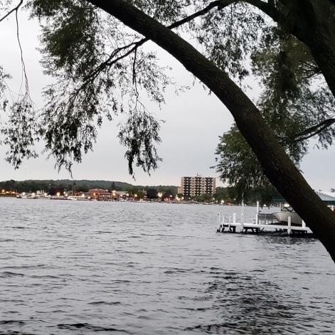 Lake Geneva Town from Lake Path 2