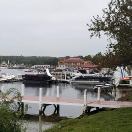 Lake Geneva Town from Lake Path