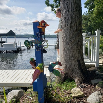 Lake Path Decorations 2