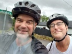 Paul & Steve Bike Around theLake