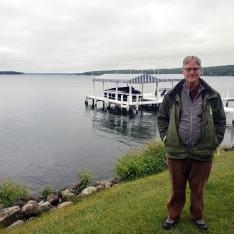 Steve On the Lake Path