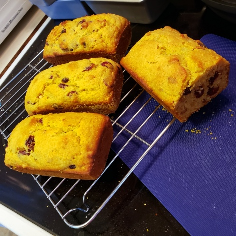 20201104 Cranberry-Semolina Tea Loaves
