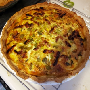 Cheese & Chile Quiche