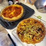 Ratatouille and Cheese & ChileQuiches