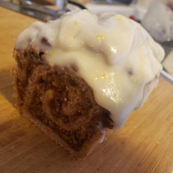 Sourdough Pumpkin-Swirl Loaf