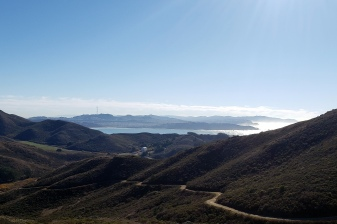 City & Coastline from Miwok Trail