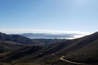 City & Coastline from Miwok Trail