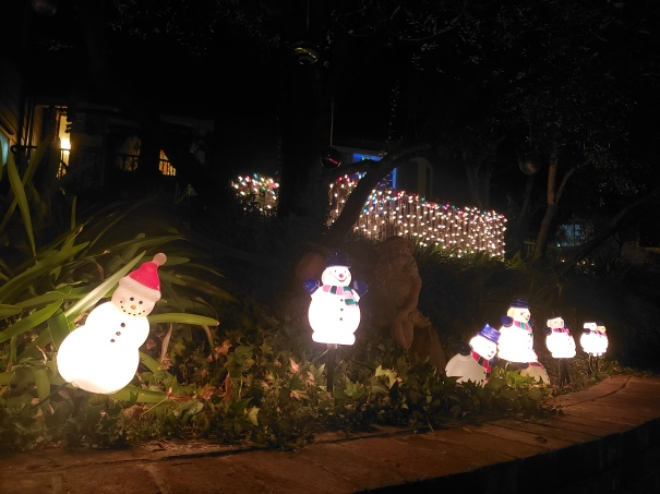 Cute Snowmen Lights