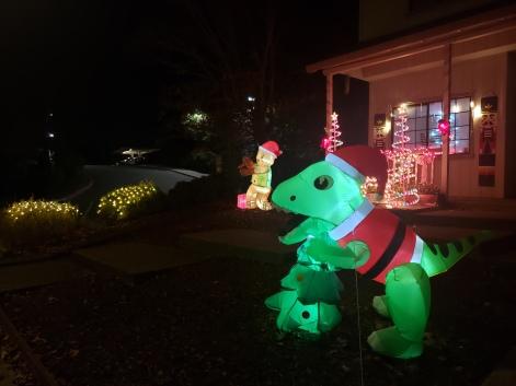 Dragon in Lights
