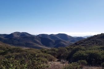 GGNRA Hills & SF Towers from Miwok Trail