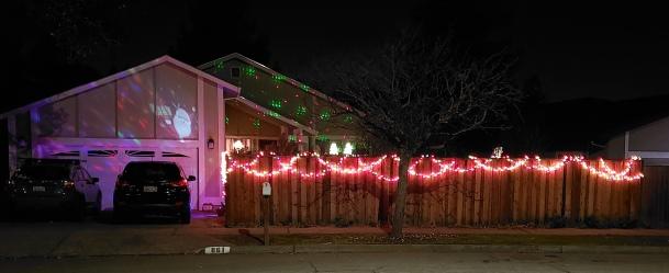 Moving Lights & Fence Trim