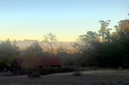 Mt St Helena & Old Barn Roof