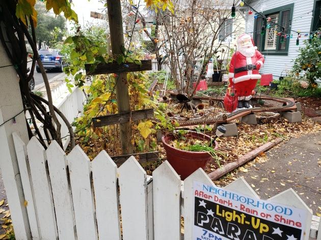 Santa & Light-Up Parade
