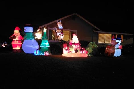 Santa Snowmen & More