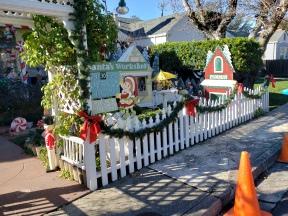 Santa's Workshop & Fence