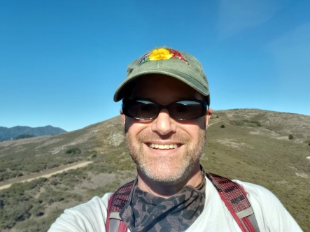 Selfie from Miwok Trail