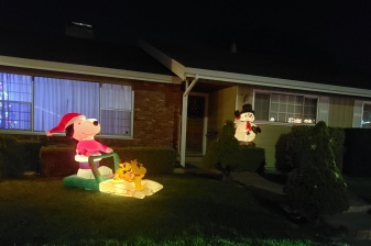 Snoopy & Snowman