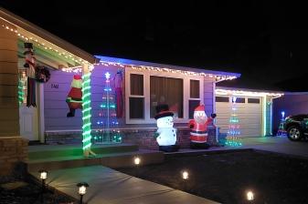 Snowman & Santa