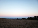 Southeast SoCo Hill Country w Moonrise & Sunset2