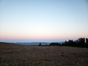 Southeast SoCo Hill Country w Moonrise & Sunset 2