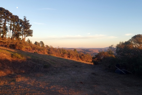 Southeast SoCo Hill Country w Mt Diablo & Moornise