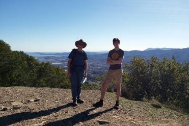 Ames & Kip at Olompali 1