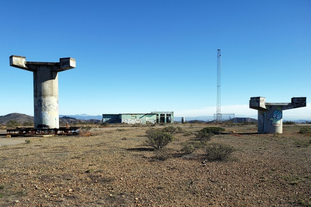 Mt Diablo through Pylons on Hill 88