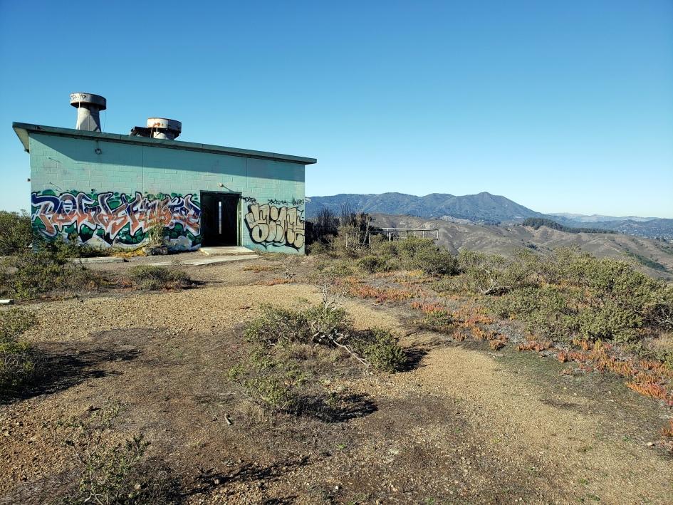 Mt Tam & Graffiti Bldg 1