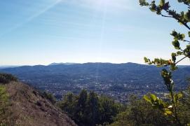 Olompali S View to Novato - Tam - SF