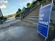 20210129 Alamo Sq Park Steps